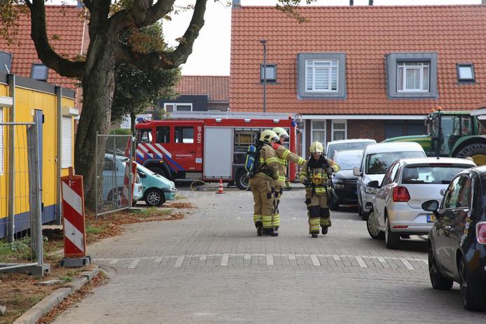 Door een gaslek in de Thorbeckestraat in Velp moeten enkele woningen worden ontruimd.