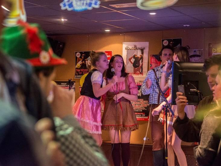 Karaokefeestje in lederhosen