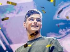 Martin Garrix treedt op tijdens MTV EMA