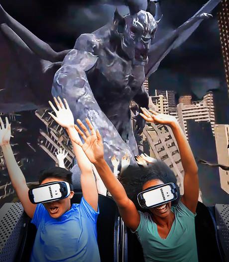 Six Flags opent eerste virtual reality achtbaan in VS