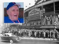 Na 71 jaar gaat Cubs-fan (97) weer naar World Series