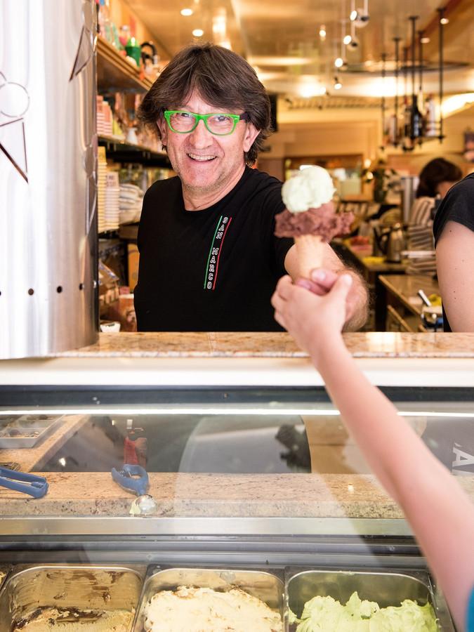 Gian Maria Da Fies serveert op 2 plekken in Amersfoort zijn ambachtelijke verse ijs