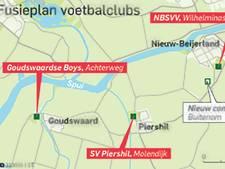 Fusieplan twee clubs: Nieuw complex voor Piershil en NBSVV