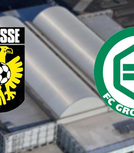 Vitesse tegen FC Groningen