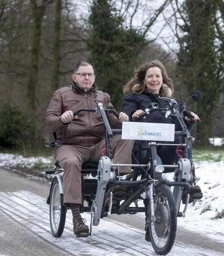 Een duofiets om samen op weg te gaan