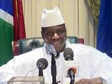 Ex-president Jammeh vertrokken uit Gambia