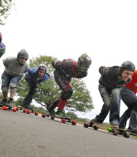 Longboarden op Snippendaalseweg in Rheden is een succes