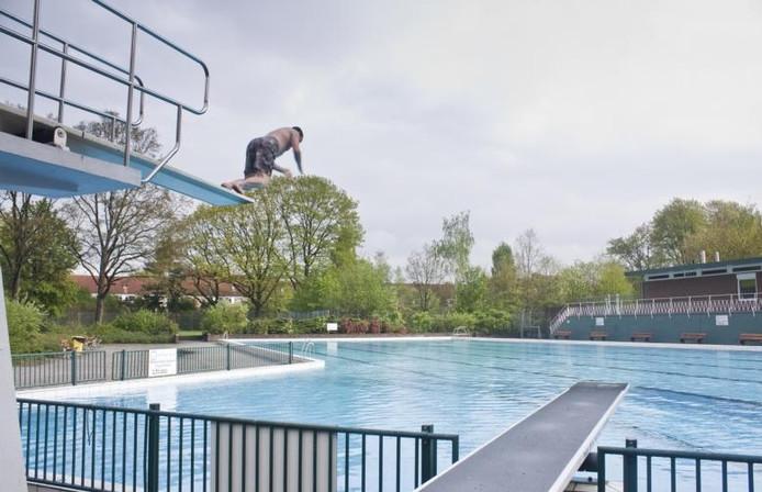 Het Goffertbad in Nijmegen.