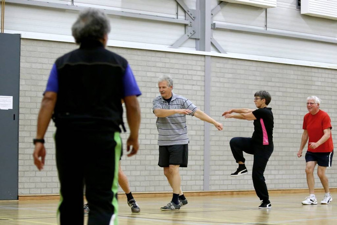 55-plus sport in Wageningen.
