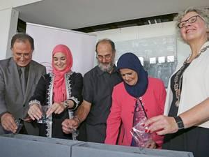 Ambassadeur Marokko opent expositie Omnia