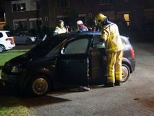 Geparkeerde auto in Lichtenvoorde loopt schade op bij brand