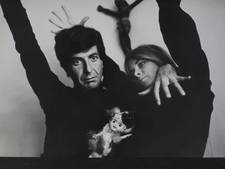 Leonard Cohen maakt gedicht voor muze vlak voor haar dood
