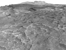 Ondergrondse ijszee van acht keer Nederland op Mars