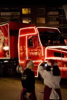 Coca-Cola kersttruck maakt pitstop in Scheveningen