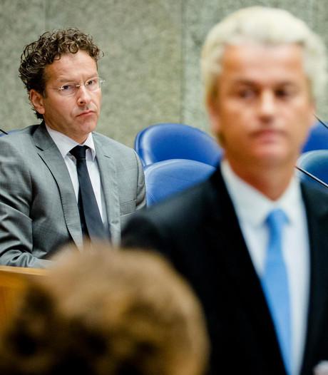 Minister Dijsselbloem: kreet Wilders is een natte scheet