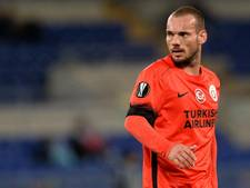 Sneijder verliest met Galatasaray