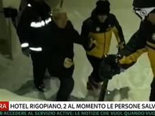 Hulpdiensten: veel doden in hotel door zware lawine Italië