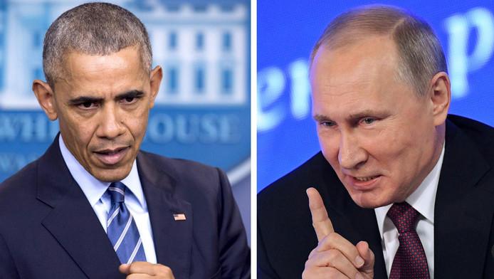 President Obama en president Poetin.