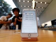 Jaarverkoop iPhone voor het eerst afgenomen