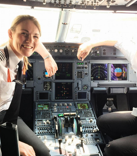 Kate (26) en Luke (19) zijn jongste duo in de cockpit
