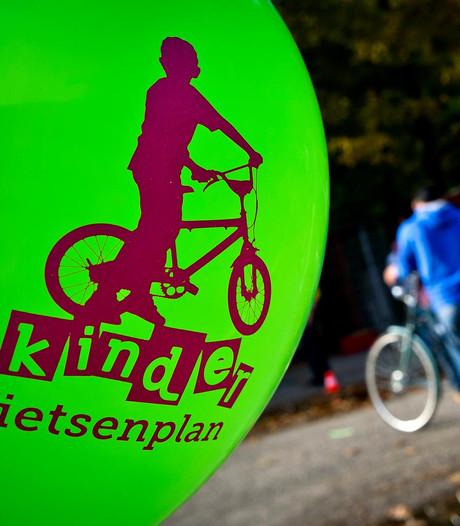 ANWB leverde al 2000 fietsen aan minderbedeelde kinderen
