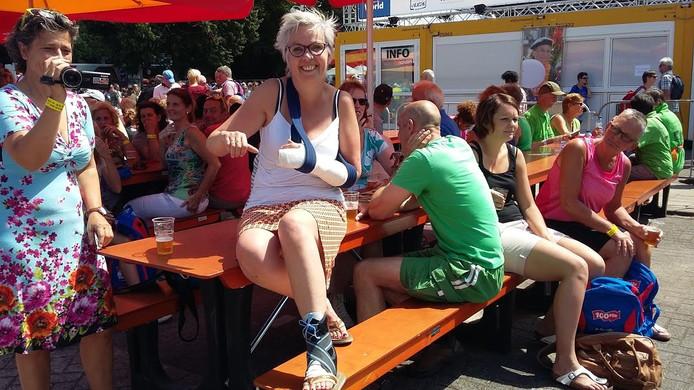 Anet van Grootheest op de Wedren.