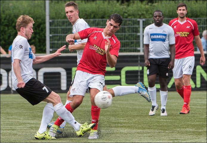 JVC Cuijk ging op eigen veld onderuit tegen De Dijk.