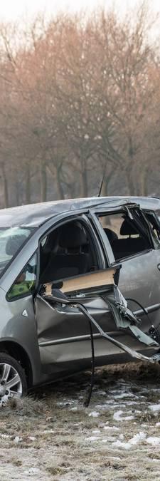 Gladde A27 zorgt voor ongelukken