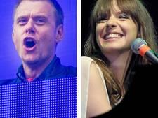 Laura Jansen en Racoon in Arena-show Armin