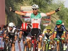 Ritzege voor Nizzolo in eerste etappe in Abu Dhabi