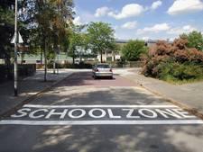 'Basisschool Zonnewijzer veiliger door 'schoolzone' op de weg'