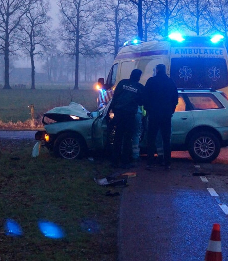 Automobilist rijdt tegen boom in Aalten
