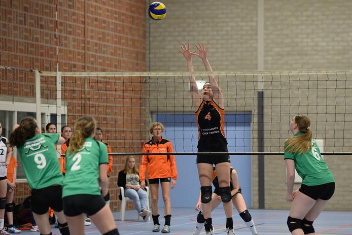 Archieffoto volleybalteam Argos.