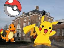 Pokémonspelers maken een bende van park Slot Zeist