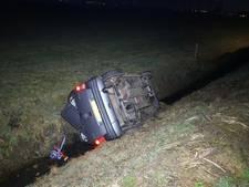 Gewonde bij eenzijdig ongeval in Wamel