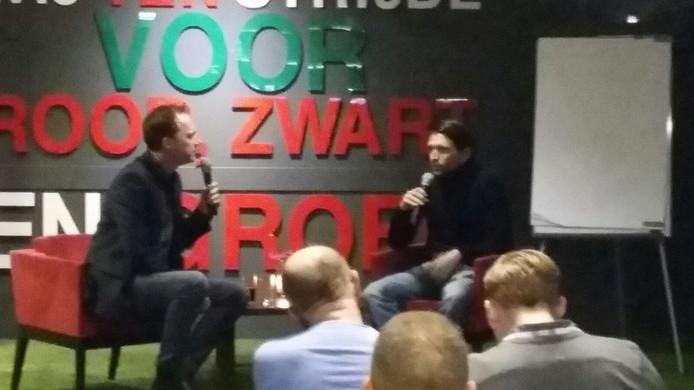 NEC-trainer Peter Hyballa werd ondervraagd door Jochem van Gelder.