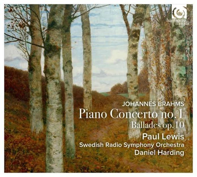 Paul Lewis, Swedish Radio Symphony Orchestra en Daniel Harding - Johannes Brahms, Pianoconcert nr. 1
