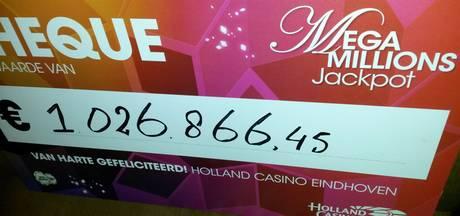 Jackpot van ruim een miljoen euro gevallen in Holland Casino in Eindhoven