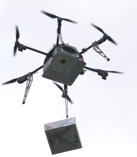 Domino's zet drones in voor levering van pizza's