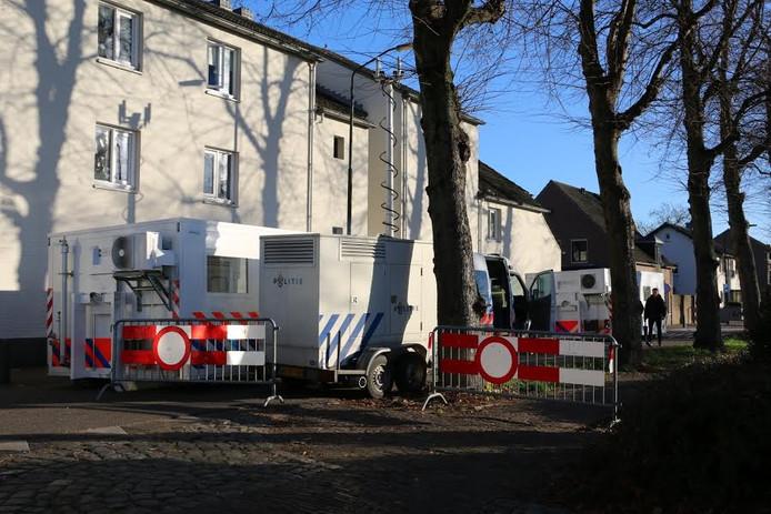De politie is gestart met het maken van een reconstructie in Cuijk.