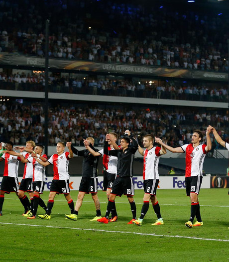 Feyenoord ook tegen Roda in uitverkochte Kuip