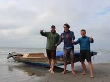 Zwitsers op nippertje gered na monstertocht Noordzee