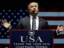 Trump geeft toe: Clinton naar de gevangenis was show
