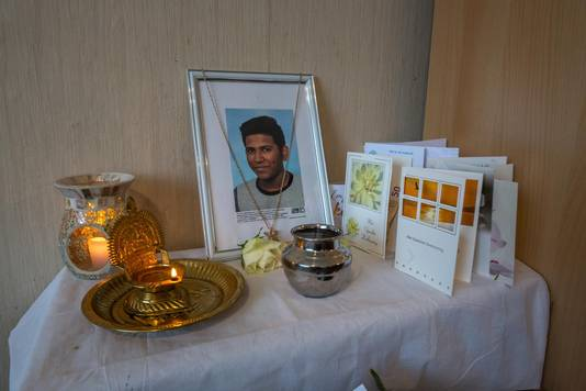 Een gedenkhoek voor Tharukshan