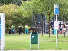 Voetballende jongen beschoten in Uden