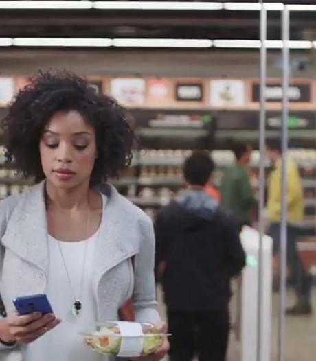 Amazon test supermarkt zonder kassa's en wachtrijen