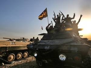 Tijdlijn: Mosul laatste belangrijke bolwerk van IS