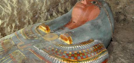 Archeologen vinden onbeschadigde mummie