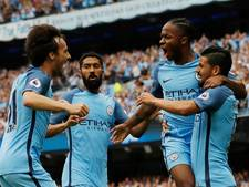 Manchester City na drie zeges aan kop in Premier League