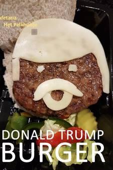 Achterhoekse cafetaria komt met Donald Trump-burger